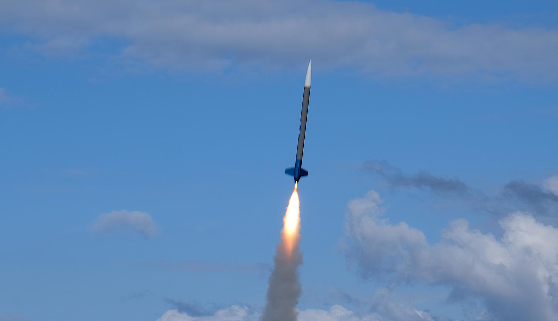 Fusée-sonde. © ESA
